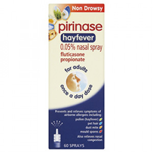 Image for Pirinase (formerly Flixonase) Allergy Nasal Spray 60 Sprays
