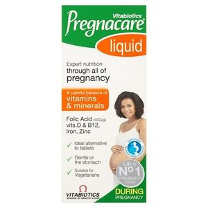 Image for Vitabiotics Pregnacare Liquid 200ml