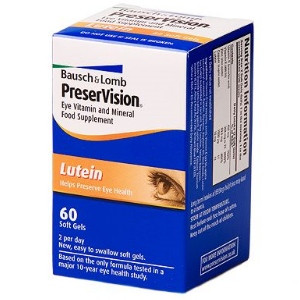 Image for PreserVision Lutein Soft Gel Capsules 60