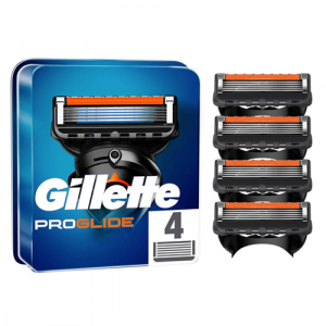 Gillette Fusion Proglide Manual Replacement Cartridge 4 Pack