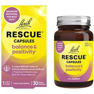 Image for Bach Rescue Balance & Positivity 30 Capsules