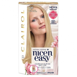 Clairol Nice'n Easy Permanent Hair Colour Natural Extra Light Beige Blonde 10B