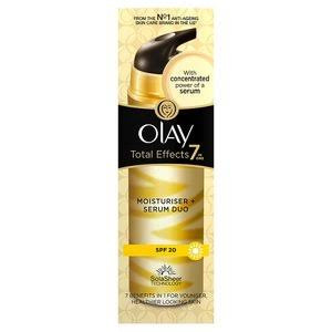 Olay Total Effects 7 in 1 Moisturiser + Serum Duo SPF 20 - Pack of 40ml