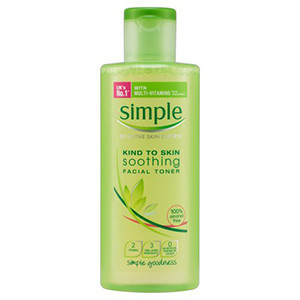 Image for Simple Soothing Facial Toner 200ml