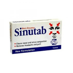 Image for Sinutab Tablets 15 Pack