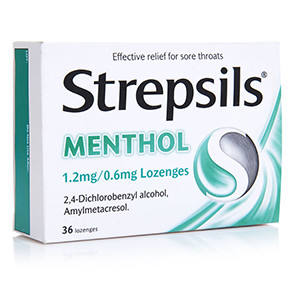 Image for Strepsils Menthol - 36 Lozenges