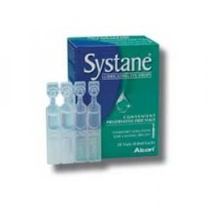 Image for Systane Lubricating Eye Drops 28 Individual Vials