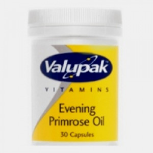 Image for Valupak Evening Primrose Oil 500mg 30 Capsules