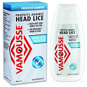 Image for Vamousse Head Lice Protection Shampoo 200ml