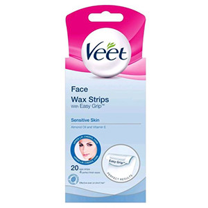Image for Veet Ready To Use MiniFace, Bikini and Touch Up 20 Wax Strips