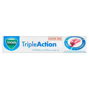 Image for Vicks Triple Action Lozenges 42g