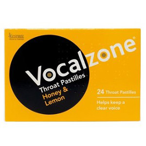 Image for Vocalzone Honey & Lemon - 24 Pastilles