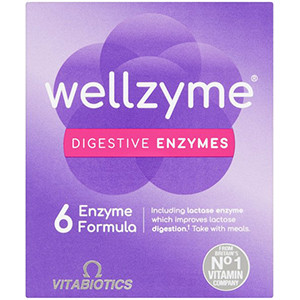 Image for Wellzyme Digestive Enzymes 60 Capsules