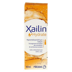 Image for Xailin Hydrate Eye Drops 10ml