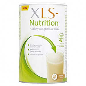 Image for XLS Nutrition Vanilla Meal Replacement Shake Powder 400g