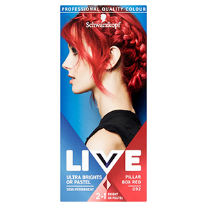 Image for Schwarzkopf Live XXL Semi Permanent 092 Pillar Box Red