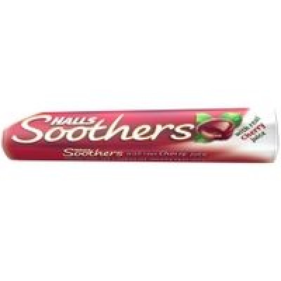 Halls Soothers Cherry