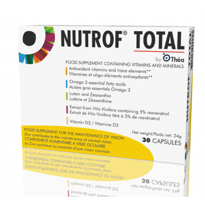 Nutrof Total Capsules Eye Supplements 30 Day Supply