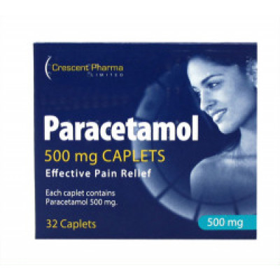 Paracetamol 500mg 32 Tablets